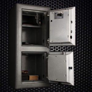 گاوصندوق البرز مدل  ۹۰DKR کلید و رمز تایوانی(موجود نمیباشد)تولید نمیشود